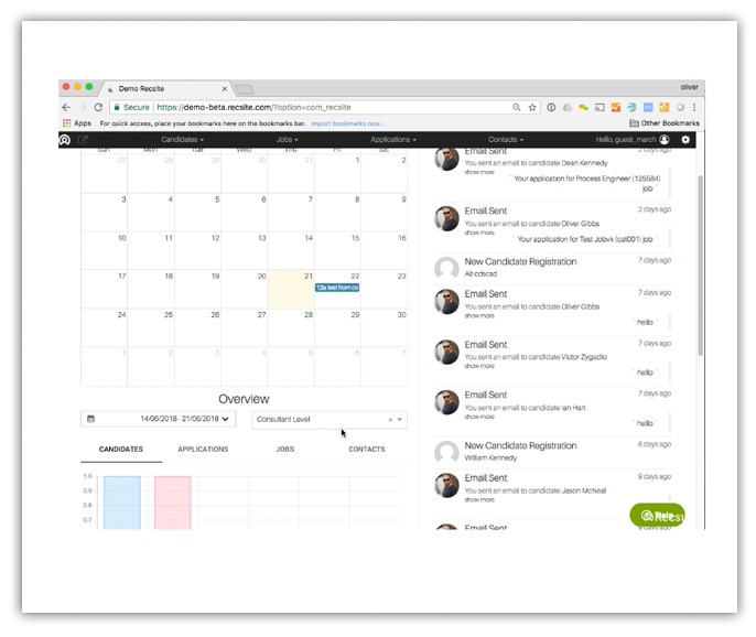 NEW! Dashboard Calendar and Reminder Scheduling